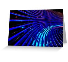 """""""The Thin Blue Lines"""" Greeting Card"""
