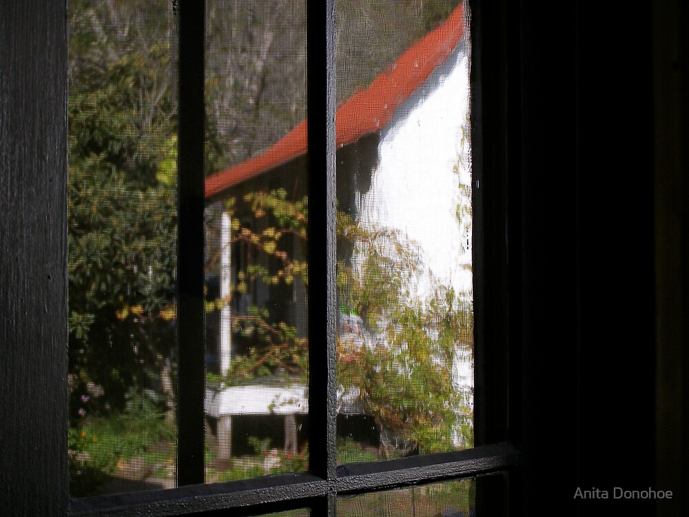 Bunkhouse Reflected by Anita Donohoe