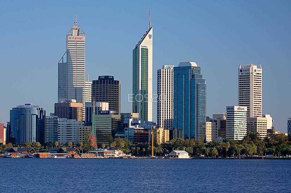 Perth - Western Australia  by EOS20