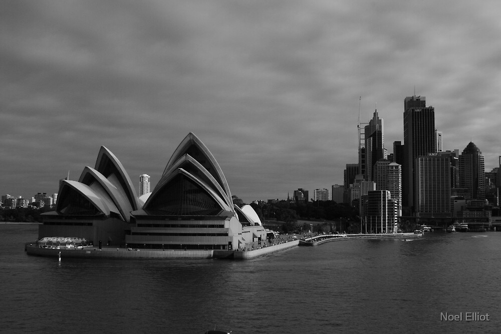 Sydney Skyline by Noel Elliot