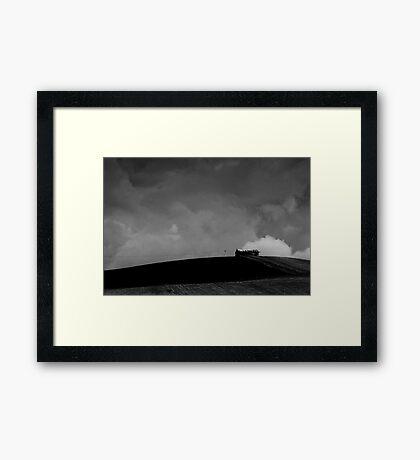 Old Shed - Tasmania Framed Print
