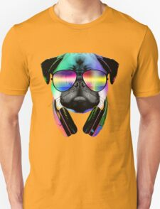 Music Love Pug T-Shirt