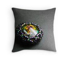 Coloured Light Throw Pillow