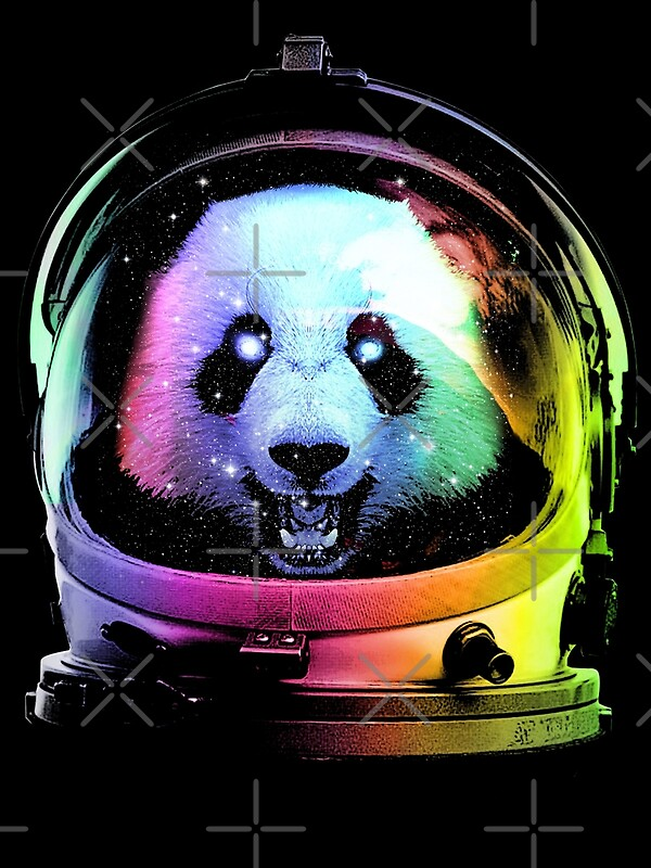 Cool Panda: Metal Prints