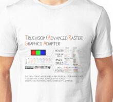 .TGA: TrueVision (Advanced Raster) Graphics Adapter Unisex T-Shirt