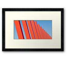 Orange ... Framed Print