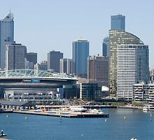 Cityscape 1 - Bolte View by Dave Fitches