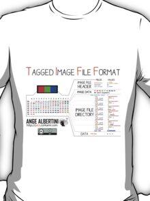 .TIFF : Tagged Image File Format (little endian) T-Shirt