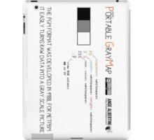 .PGM: Portable Graymap iPad Case/Skin