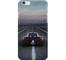 Flaming McLaren P1 iPhone Case/Skin