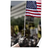 Power Flag Poster