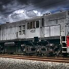 Diesel Electric Locomotive 4501 by Clayton Haynes
