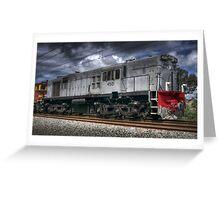 Diesel Electric Locomotive 4501 Greeting Card