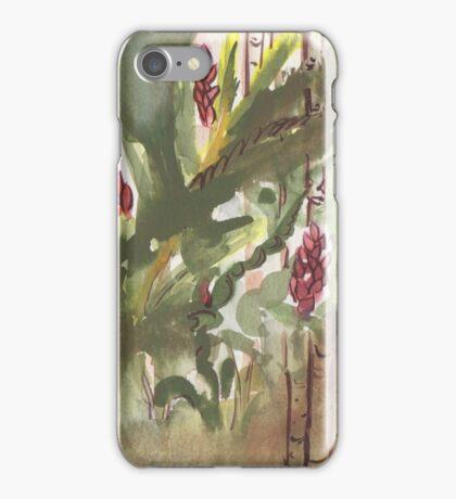 Ginger Botanical Lynda Silva iPhone Case/Skin
