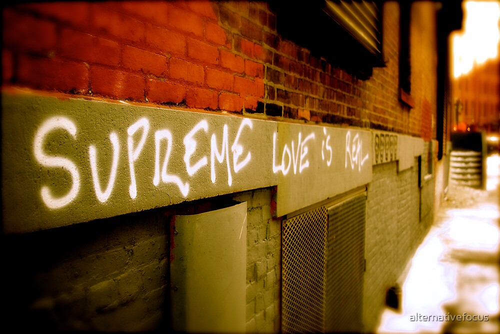 supreme love by alternativefocus