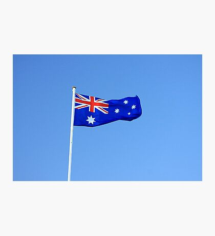 Australian Flag Photographic Print