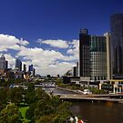 Looking Down the Yarra by D-GaP