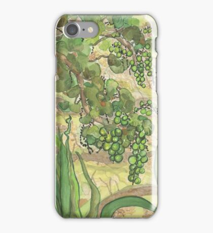 Greens Botanical Lynda Silva iPhone Case/Skin