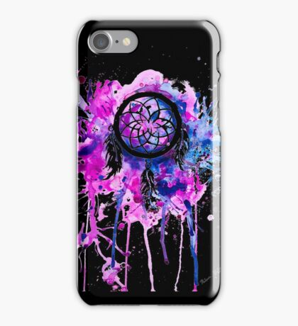 Shaping dreams (Black) iPhone Case/Skin