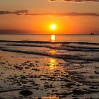 Pretty Sunset on the East Coast by Pixie Copley LRPS