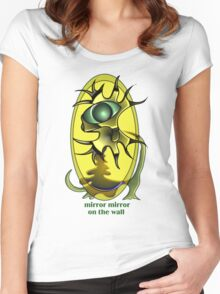 Mirror mirror on the wall tshirt Women's Fitted Scoop T-Shirt