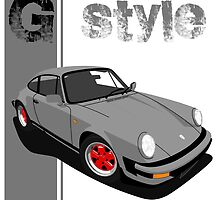 My own 911 type G by AxelWave