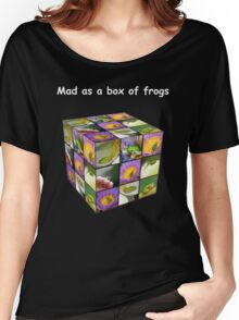 Mad as a box of frogs - darks Women's Relaxed Fit T-Shirt