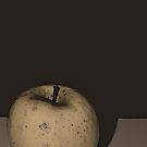 Simplicity in the Painted Apple by Sherry Hallemeier