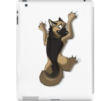 Clinging German Shepherd Dog iPad Case/Skin