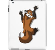 Clinging Red Fox iPad Case/Skin