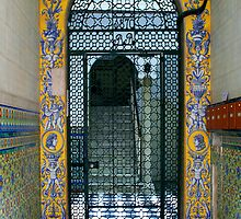 Doorway in Cadiz by Russell Fry