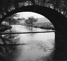 Two bridge view by Lesley White