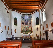 San Miguel Chapel All Quiet by Robert Meyers-Lussier