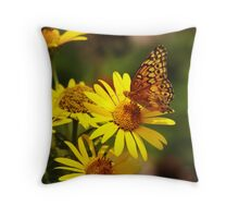 Oranges and Yellows Throw Pillow