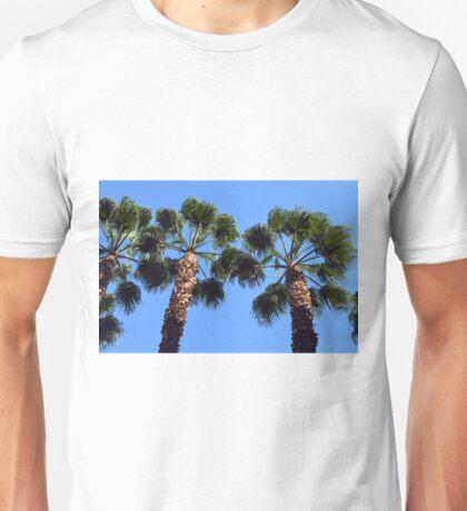 Tall palm trees Unisex T-Shirt