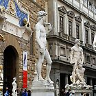 All About Italy. Piece 15 - Florence. David is Everywhere by Igor Shrayer