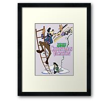 National Goof Christmas Vacation Framed Print