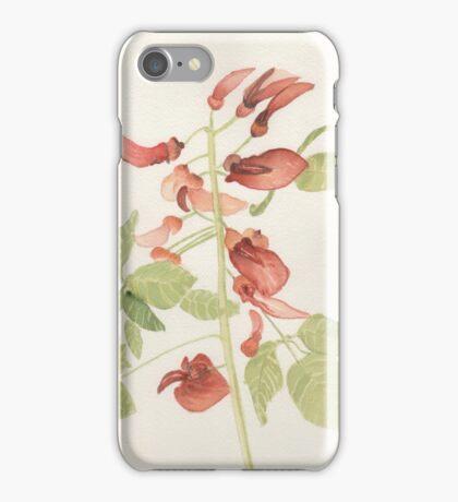 Lipstick Botanical Lynda Silva iPhone Case/Skin