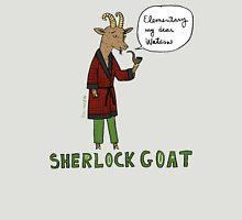 Sherlock Goat -- Elementary My Dear Watson Unisex T-Shirt