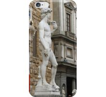 All About Italy. Piece 15 - Florence. David is Everywhere iPhone Case/Skin