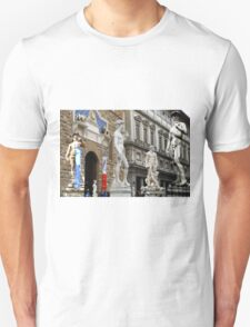 All About Italy. Piece 15 - Florence. David is Everywhere T-Shirt