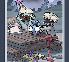 Zombie Birthday by dooomcat