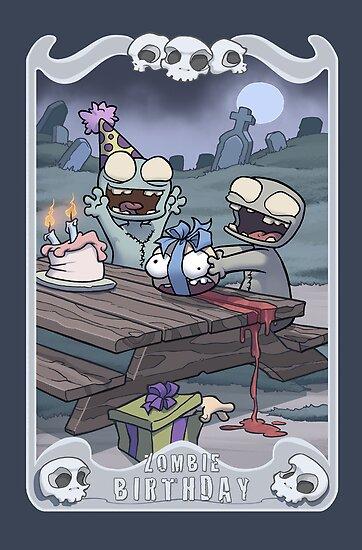 Zombie Birthday by dooomcat