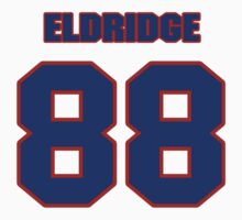 National football player Brody Eldridge jersey 88 by imsport