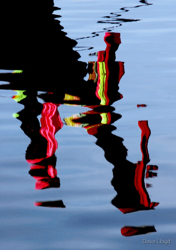 Fishing Boat Reflections by Dave Lloyd