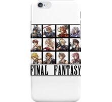History of Final Fantasy iPhone Case/Skin