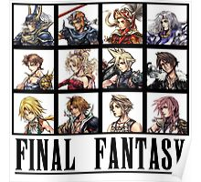 History of Final Fantasy Poster
