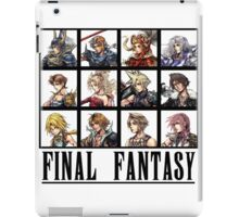 History of Final Fantasy iPad Case/Skin