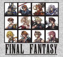 History of Final Fantasy T-Shirt