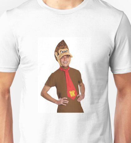 Man dressed as donkey kong Unisex T-Shirt